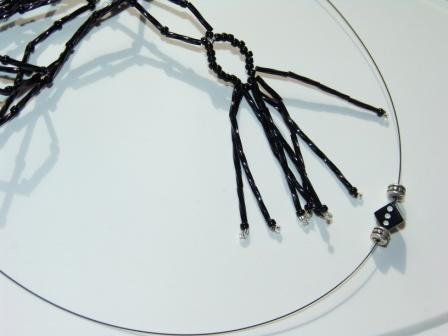Two Black Necklaces